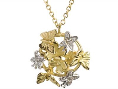 Collane in oro Parma; Pendenti in oro Parma; Collane in oro Quaglia Parma; pendenti in oro Quaglia