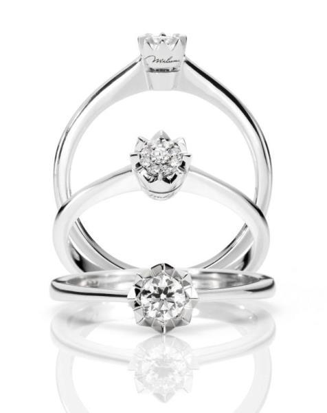 Anelli con diamante Parma