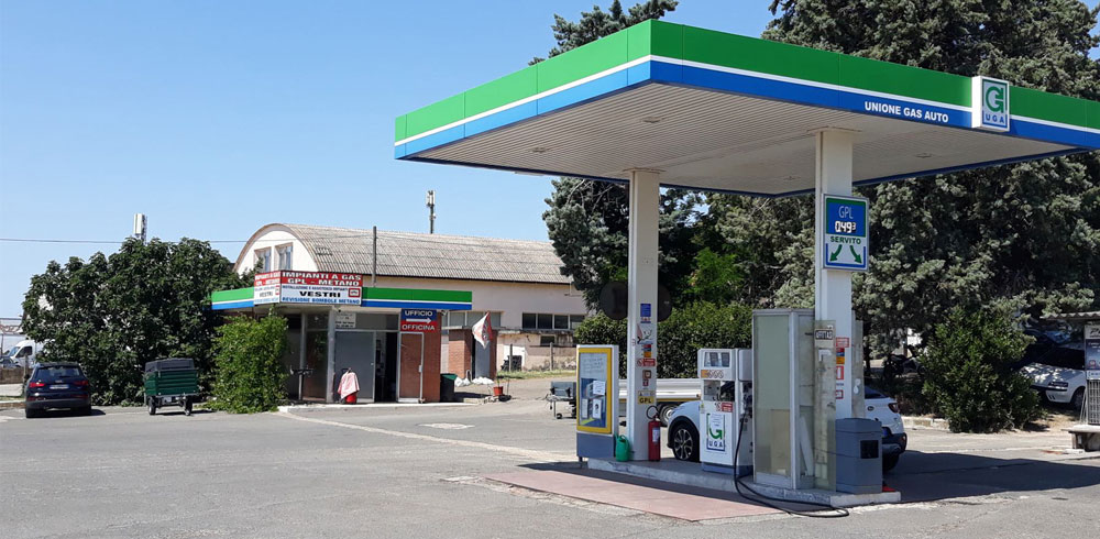 gas auto viterbo