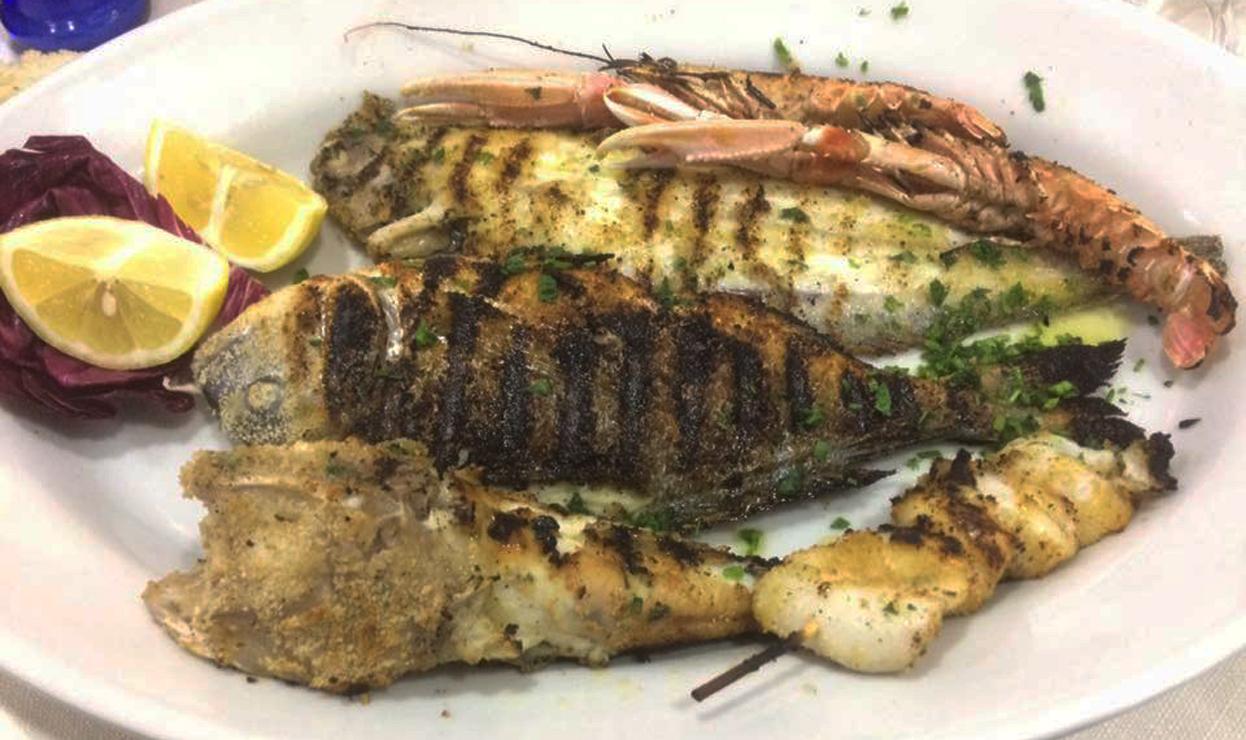 Specialità Pesce Ristorante Da Saverio a Camerano Ancona