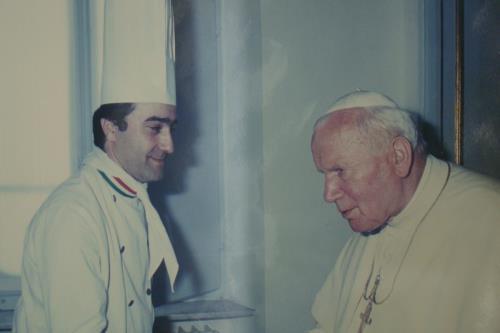 Papa Giovanni Paolo II Ristorante Da Saverio a Camerano Ancona