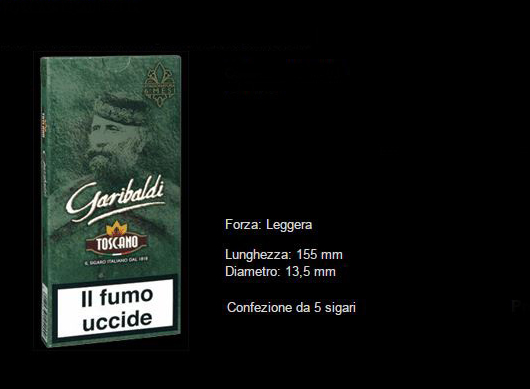 TOSCANO GARIBALDI