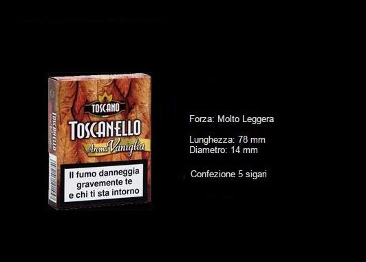 TOSCANELLO ALLA VANIGLIA