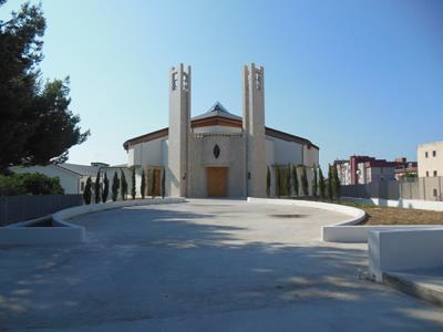 esterno Chiesa restaurata