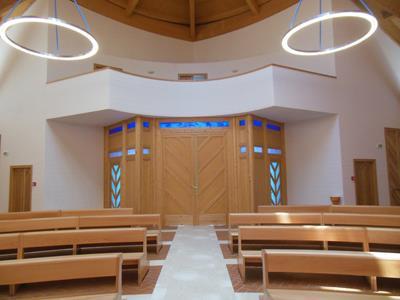 restauro interno Chiesa