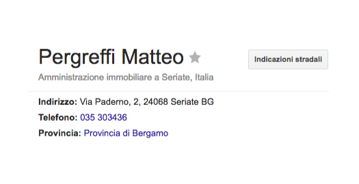 Amministratore Condominiale Rag. Pergreffi Matteo