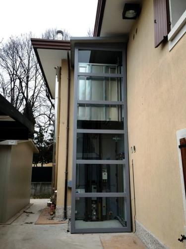 elevatori autoportanti | installazione | Porcia | Pordenone