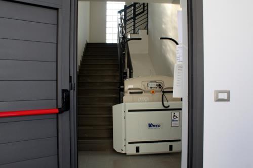 servoscala a pedana installazione interna | Porcia | Pordenone
