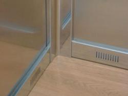 dettaglio cabina ascensore