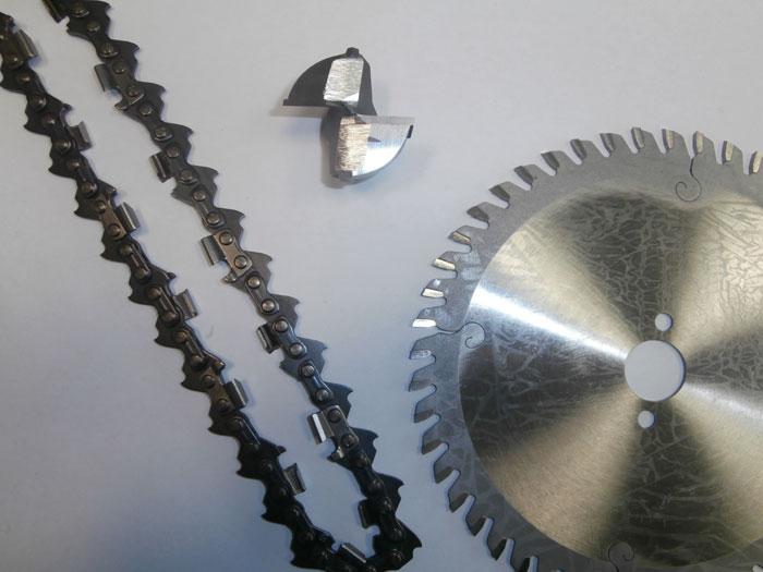 affilatura strumenti per la lavorazione del legno