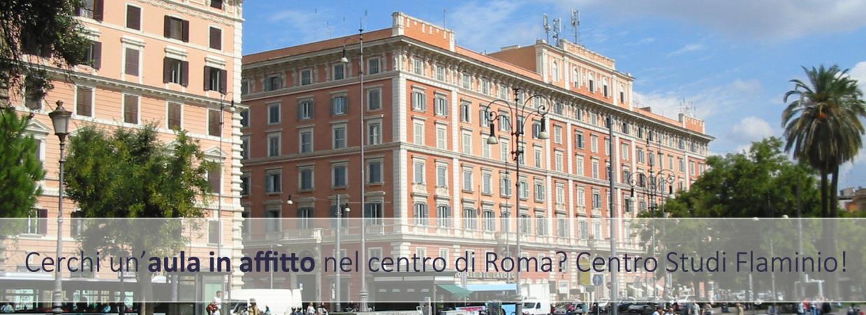 Centro Studi Flaminio Noleggio Aule per Esami, Riunioni e Conferenze a Roma Centro