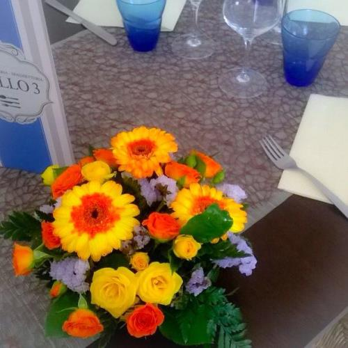 Centro tavola fiori