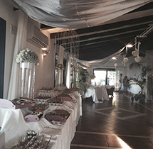 Matrimonio sala