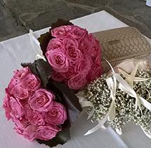 Bouquet fucsia