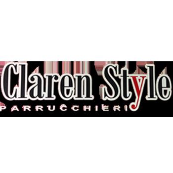 logo claren style