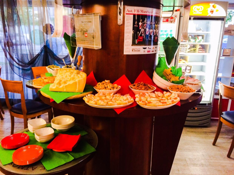 aperitivo buffet Bergamo