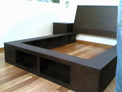 Letto in Wenge