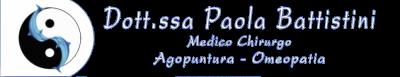 Dott.ssa Paola Battistini Medico chirurgo Agopuntura Omeopatia