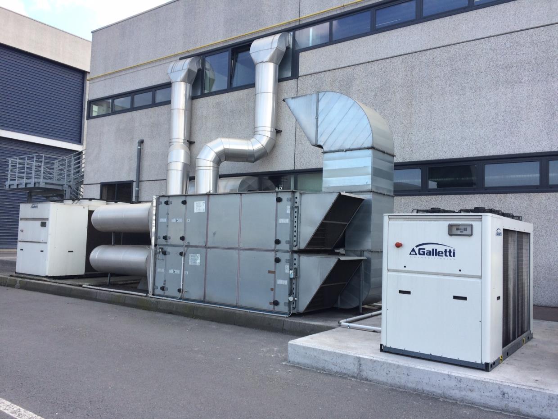 Impianto aria