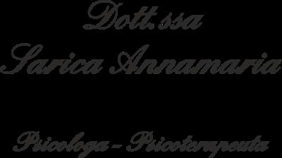 Psicologa Dott.ssa Annamaria Sarica