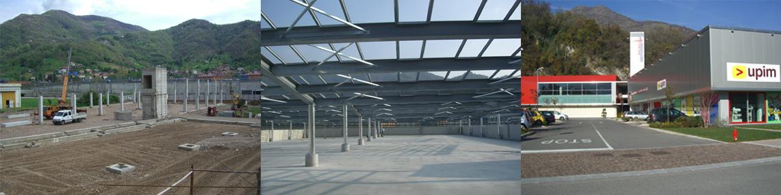 Edilizia industriale commerciale Bergamo