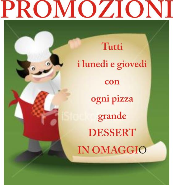 Promozioni pizzeria