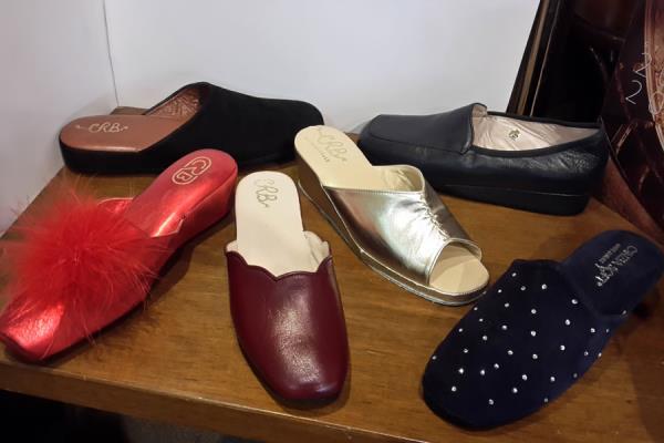 scarpe comode per la casa Parma