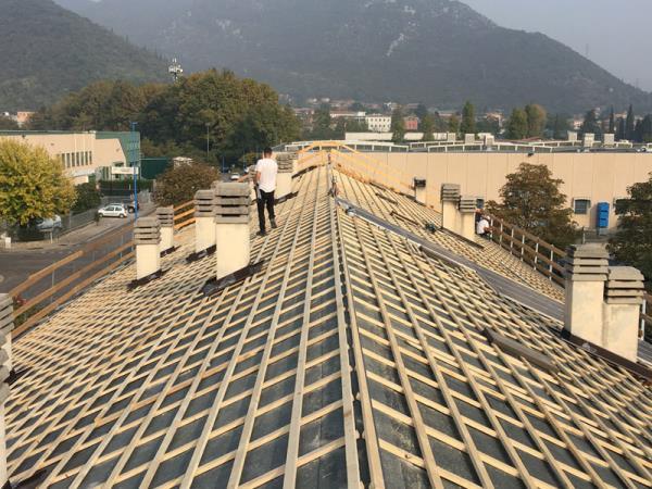 ristrutturazione soffitto brescia