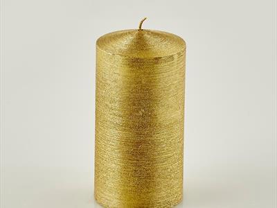 candela grande dorata