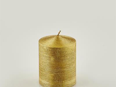 candela dorata piccola
