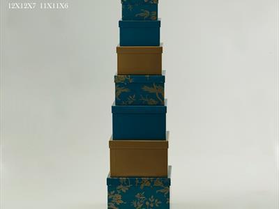 scatole colorate