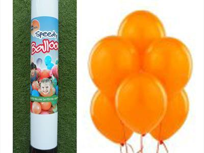 bombola palloncini arancio