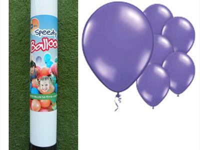 bombola palloncini viola