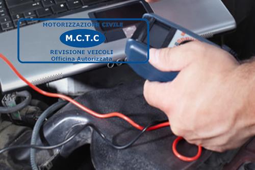 officina centro revisioni autorizzata motorizzazione civile autocentri cinecittà Roma