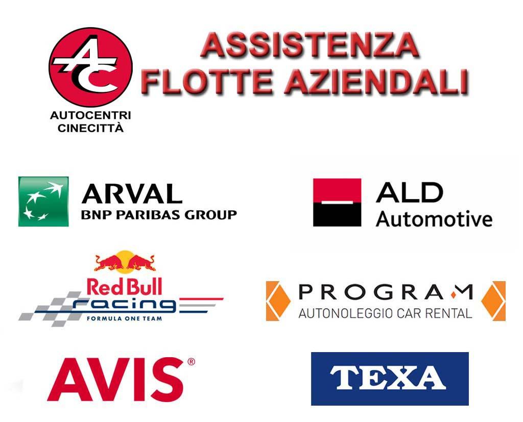 assistenza flotte aziendali Roma tuscolana autocentri cinecittà