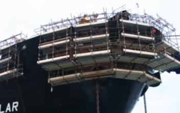 ponteggio nave