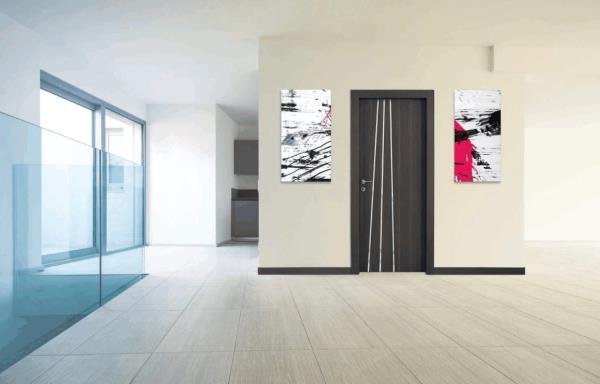 porte a battente in legno con inserti in alluminio | Sacile (PN) | Portogruaro (VE)