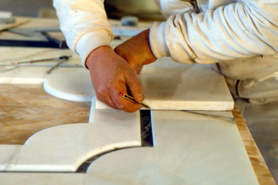 Lavorazione in marmo pietra granito massafra