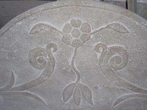 Motivo floreale pietra