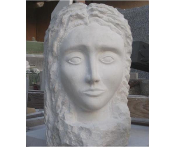 Scultura e filtri in marmo