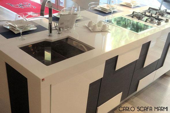 realizzazione piani cucina in marmo carlo scafa Roma