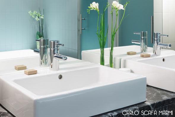 realizzazione lavelli piatti doccia vasche in marmo carlo scafa Roma