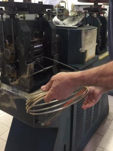catena vuota fatta a mano