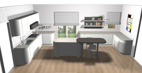 progetto cucina Bondi