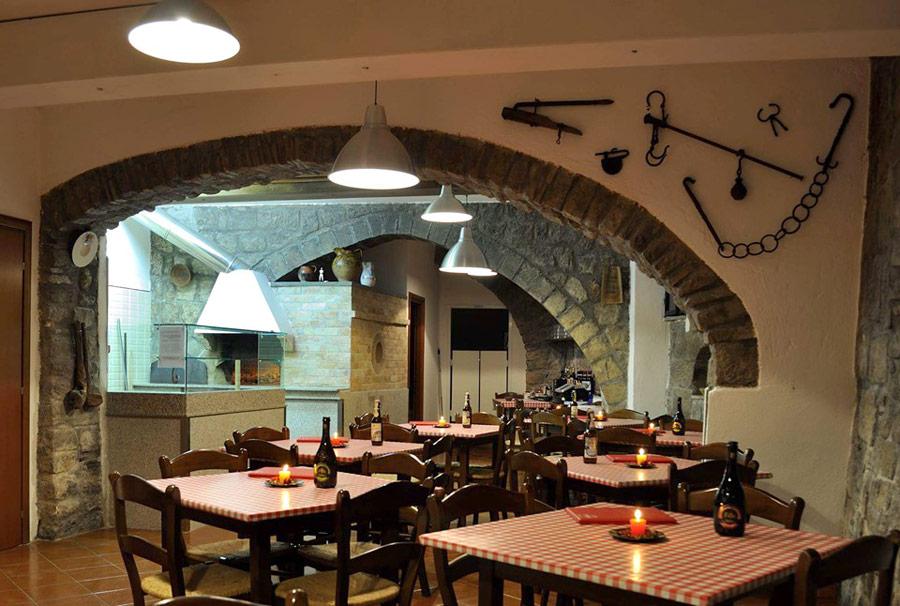 Pizzeria in centro a Viterbo