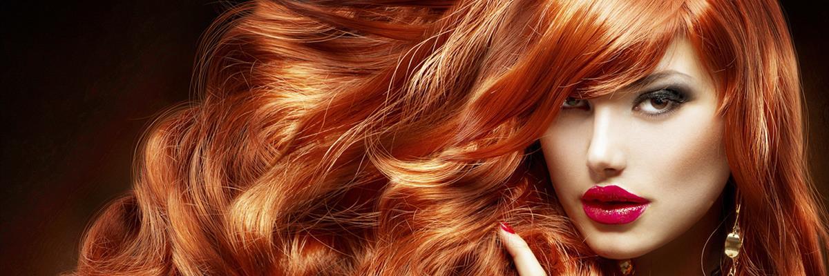 Donna capelli rossi