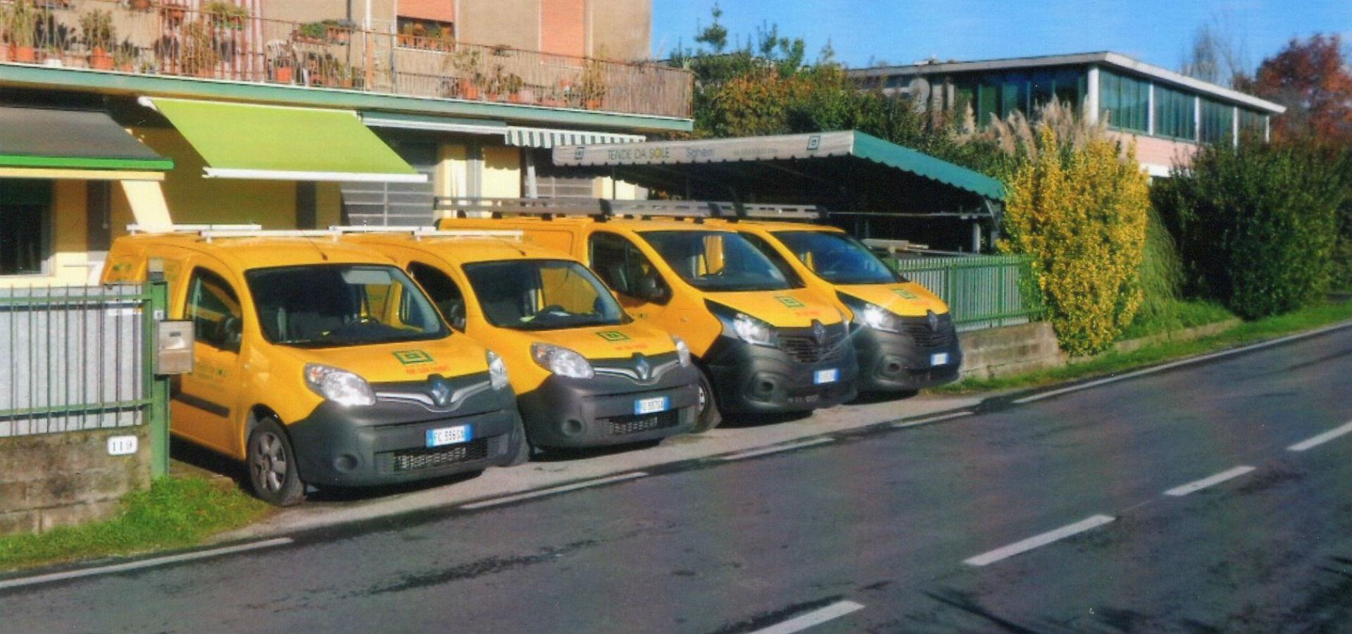Automezzi Sgherri Tende a Lucca