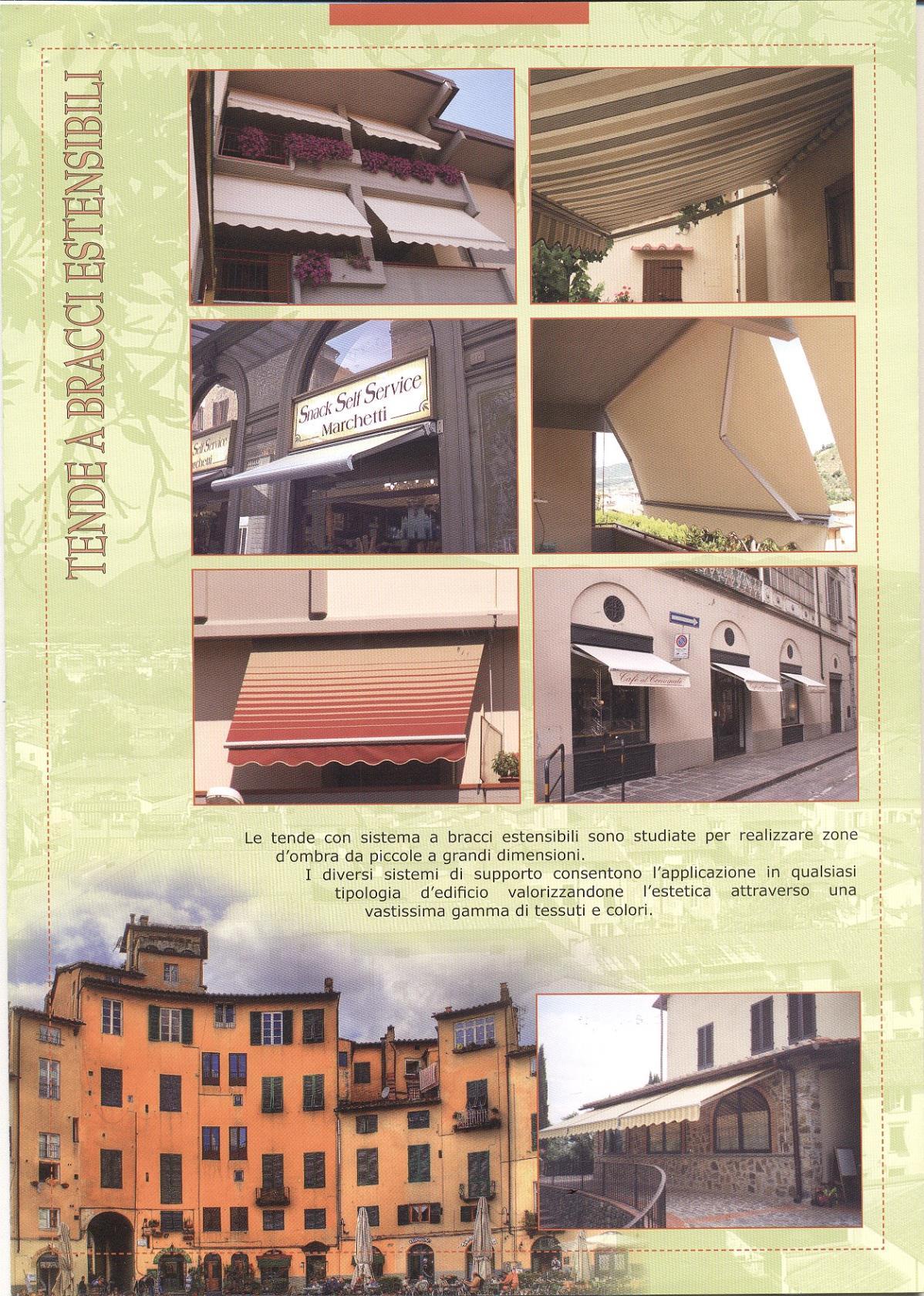 Brochure Tende da Sole Sgherri a Lucca