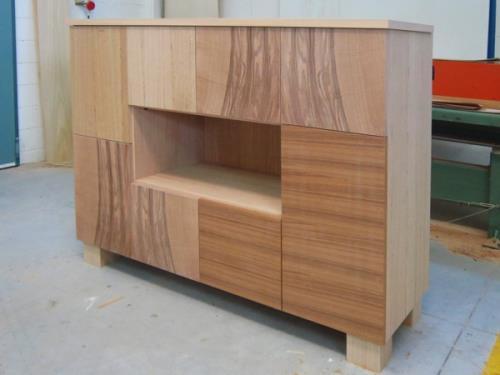 realizzazione artigianale mobile salotto in legno | Nimis | Udine