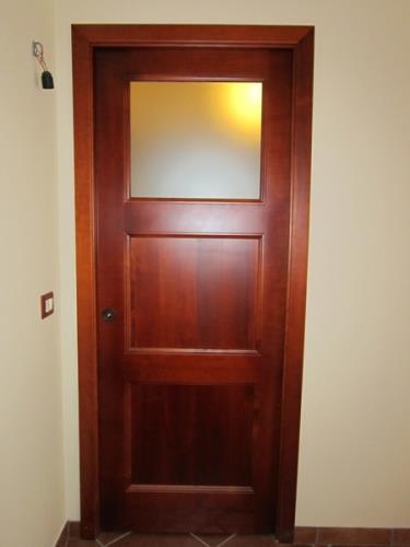 porte da interno con artigianali legno-vetro | Nimis | Udine